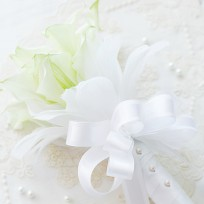[FL76] White Calla Bridal Bouquet