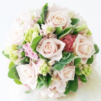 [FL78] Baby Pink Bridal Bouquet