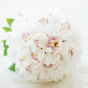 [FL44] Pure White Bouquet