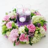 2011년 플로리스트 8월호 잡지 - Candle Wreath