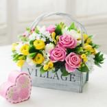 2012년 플로리스트 3월호 잡지 - (White Day)Grouping Basket