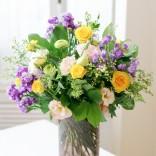2016년 플로리스트 7월호 잡지 - Vase arrangement
