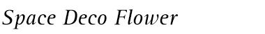 Space Deco Flower